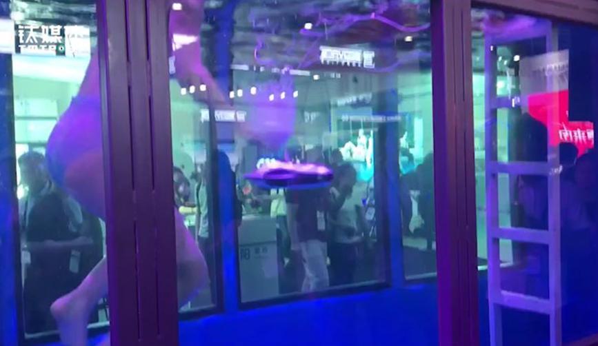臻迪科技发布新一代水下机器人