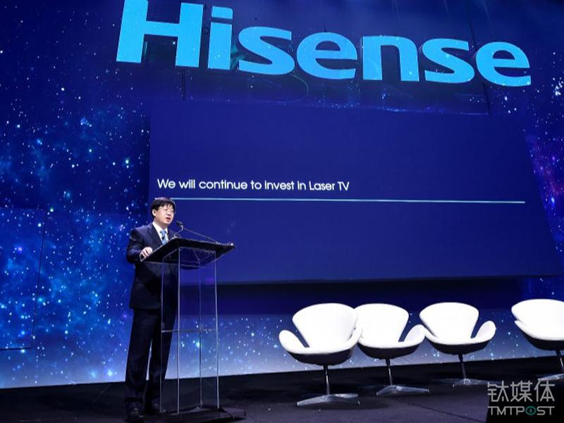 海信史上最强激光电视阵容登陆CES,最大150英寸