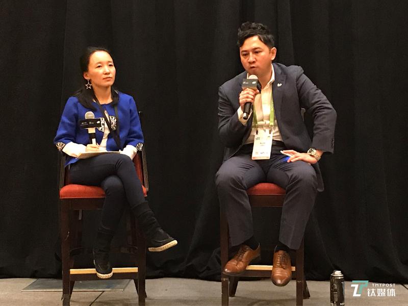 Twitter大中华区总经理 蓝伟纶 #钛媒体2018 CES中国创新之夜#
